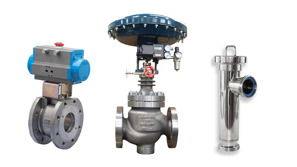 Control and on-off valves