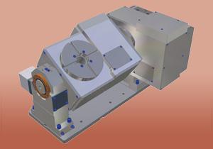 Въртящи / накланящи се маси с CNC управление
