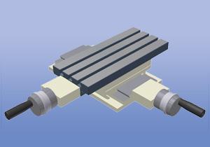 Машинни корпуси на модулен принцип - подавателни шейни, въртящи маси, опори и носещи колони