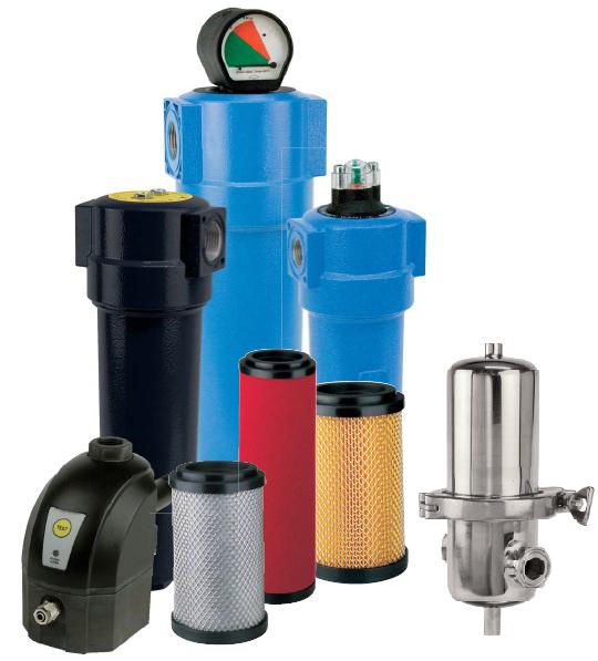 Филтри за сгъстен въздух и газове