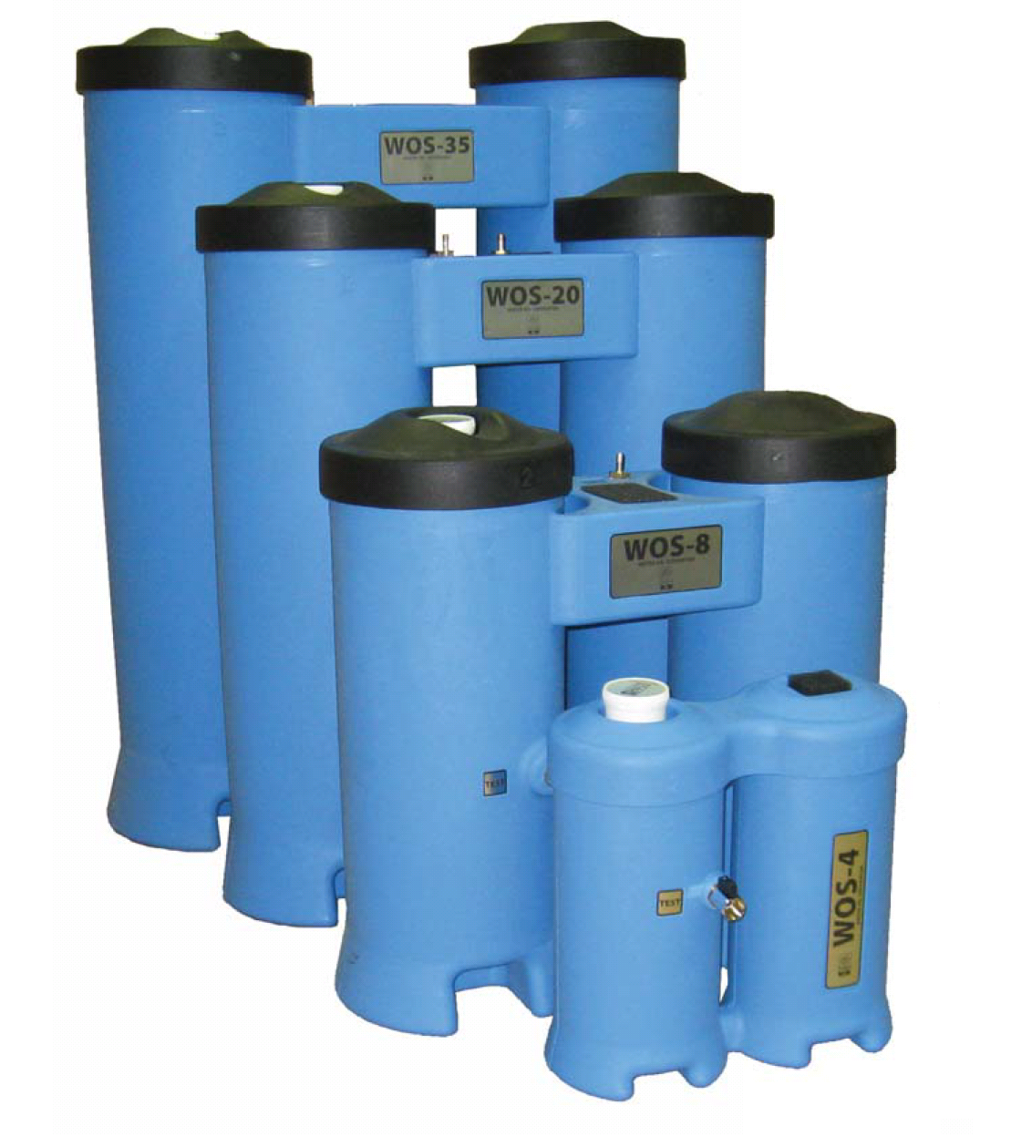 Сепаратори вода/масло