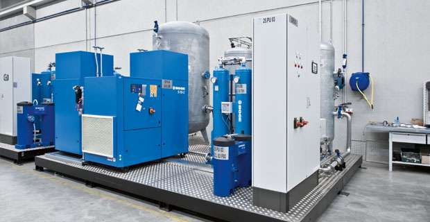 Compressors and compressed air treatment